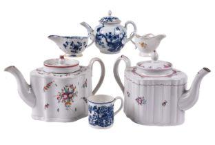 A miscellaneous selection of English porcelain