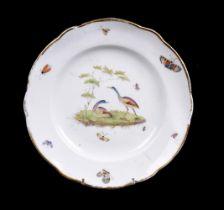 A British porcelain plate