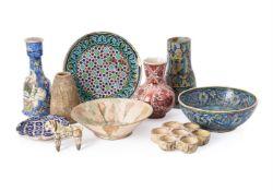 A group of Islamic ceramics