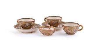 Kinkozan: A Miniature Satsuma Pottery Bowl