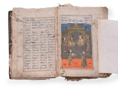 An illustrated copy of a section of Nizami's Khamsa (Khosrow and Shirin and The Seven Beauties)
