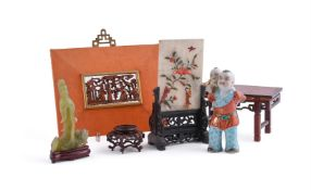 A small group of Chinese items