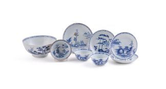 A group of Chinese 'Nanking Cargo' porcelain