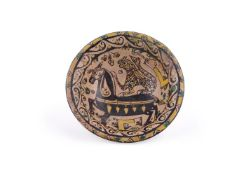 A Samanid polychrome buffware bowl