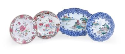 A Chinese Famille Rose serving dish
