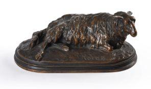 After Rosa Bonheur (1822-99), a bronze Ewe,