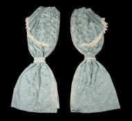 Three pairs of curtains