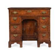 A George III mahogany kneehole desk