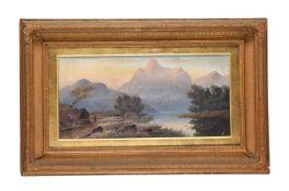 Attributed to Valentine Delawarr (Australian 1852-1918), Sunrise