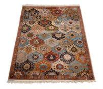 A Tabriz carpet