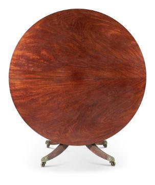 A REGENCY MAHOGANY CENTRE TABLE, CIRCA 1820