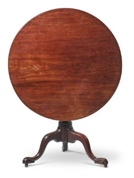 A GEORGE III MAHOGANY OCCASIONAL OR SUPPER TABLE, CIRCA 1780