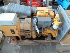 Used Vetus marine generator - 3 cyl diesel.