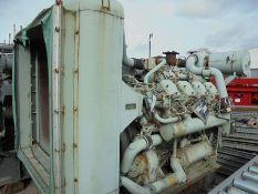 Dorman 8QT engines with radiator, 280bhp@1000rpm.