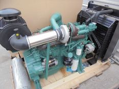 New FAWDE/Wuxi 6 cylinder engine CA6DF20-14D engine with radiator and air cleaner assy, 110kw@