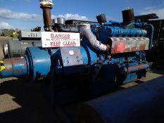Paxman V12, 500KVA generator set, used running, Type 12RPH MK7.