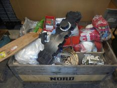 Misc parts and PPE equipment.