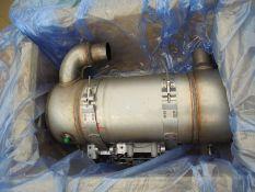 Caterpillar C4.4 exhaust system (DPF+Cat converter), p/n 358-3727.