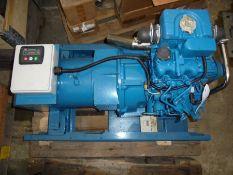 New 2 cylinder Perkins 10kva marine generator.