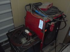 Olympic WT300 stick welder and SW850 Plasma Cutter, 3 phase.