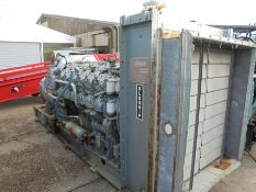 Dorman 12PTCR Generator Set 565kva, stand by hours only. (Boudain licence)