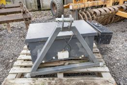 1250kg Proforge front weight to fit M/F