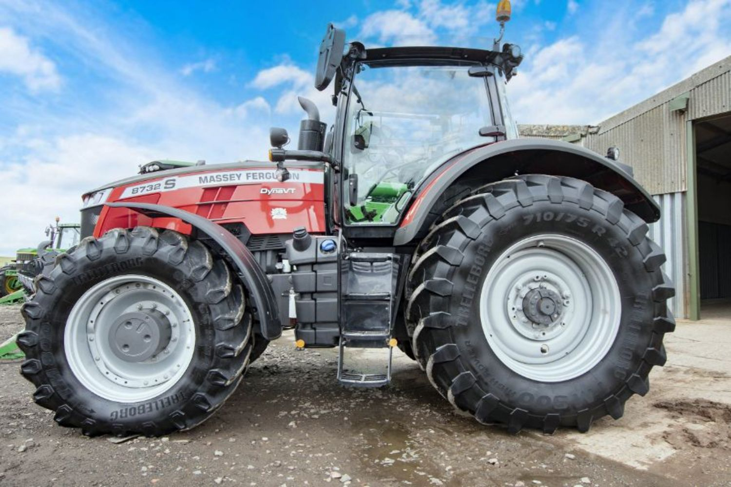 Sale of Tractors & Cultivation Equipment Following Sale of Farm