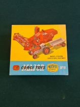 Corgi Major gift set no. 8, Massey Ferguson 780 combine harvester and Massey Ferguson 65 tractor.