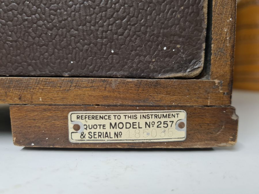 1934 Marconi No. 257 radio in walnut Art Deco style case. - Image 3 of 4