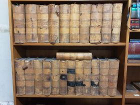 23 volumes First Edition Encyclopaedia Londinensis or, Universal Dictionary of Arts, Sciences and
