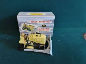 Dinky Supertoys 961 Blaw-Knox bulldozer (no tracks).