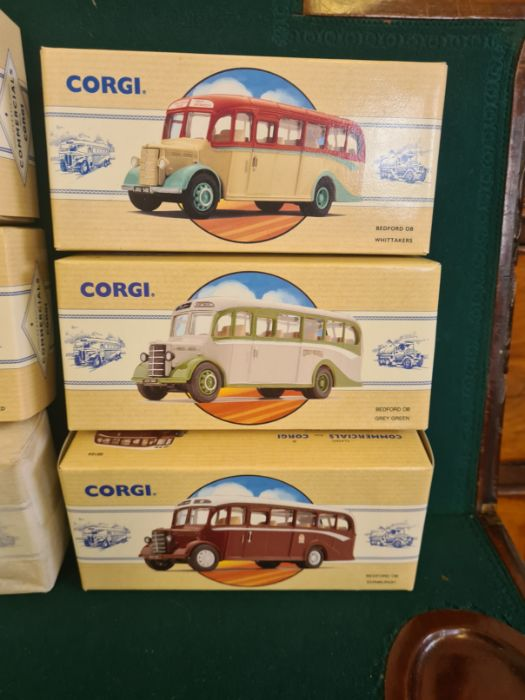 9 x Corgi Commercial Classics, all mint in boxes, some unopened. AEC Regal Eastern Counties, Leyland - Image 2 of 5
