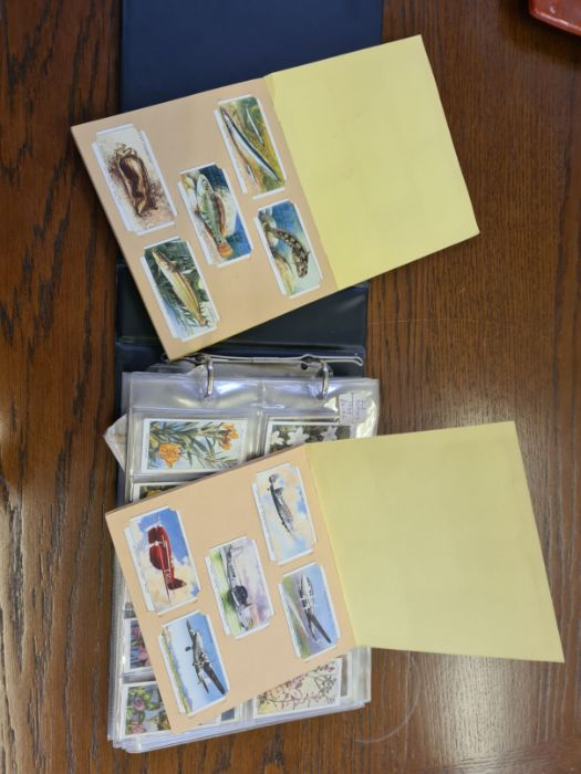 10 tea card sets, various subjects to include speed, dogs, footballers, modern naval craft, - Image 5 of 5
