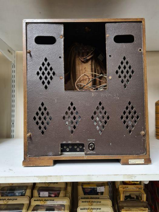 1934 Marconi No. 257 radio in walnut Art Deco style case. - Image 4 of 4