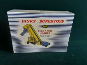 Dinky Super Toys 964 elevator loader with working hopper elevator and chute.