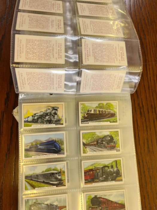 10 tea card sets, various subjects to include speed, dogs, footballers, modern naval craft, - Image 3 of 5