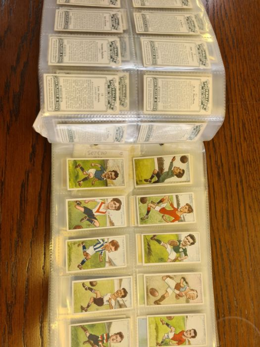 10 tea card sets, various subjects to include speed, dogs, footballers, modern naval craft, - Image 4 of 5