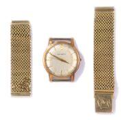Armbanduhr von Huguenin und Armband