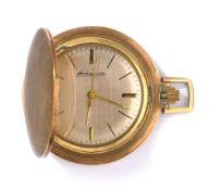 Frackuhr mit Sprungdeckel und Uhrkette
