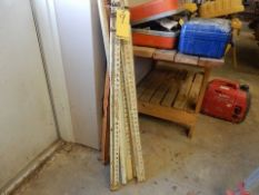 LOT MEASURE STICKS