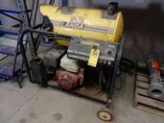 LANDA PORT. STEAM CLEANER, M# PGHW4-20321E, S/N P05494-4894, 2,000 PSI (STARTS & RUNS)