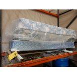 METAL HEADBOARD, FOOTBOARD & (3) BOX SPRINGS (FULL SIZE)