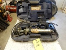 CORDLESS ELEC. GREASE GUN, CASE, CHARGER