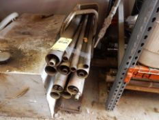 LOT MISC. GEOPROBE DRILL STEM & TUBING W/RACK