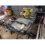 QEP TILE SAW, M# 60010, STAND