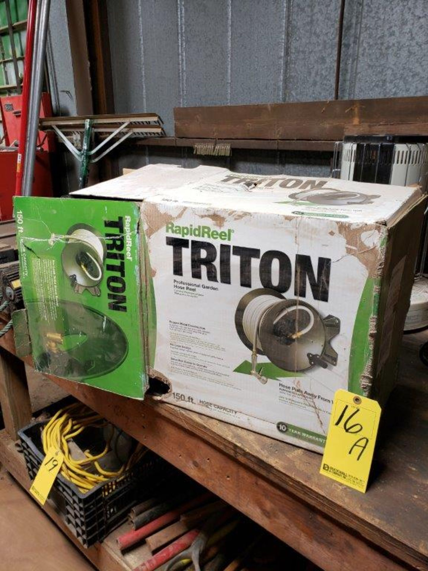 TRITON HOSE REEL - NEW IN BOX (NO HOSE INCLUDED)