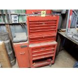 SNAP-ON TOOL BOX W/CONTENTS TO INCLUDE - SOCKETS, WRENCHES, TORQUE WRENCH