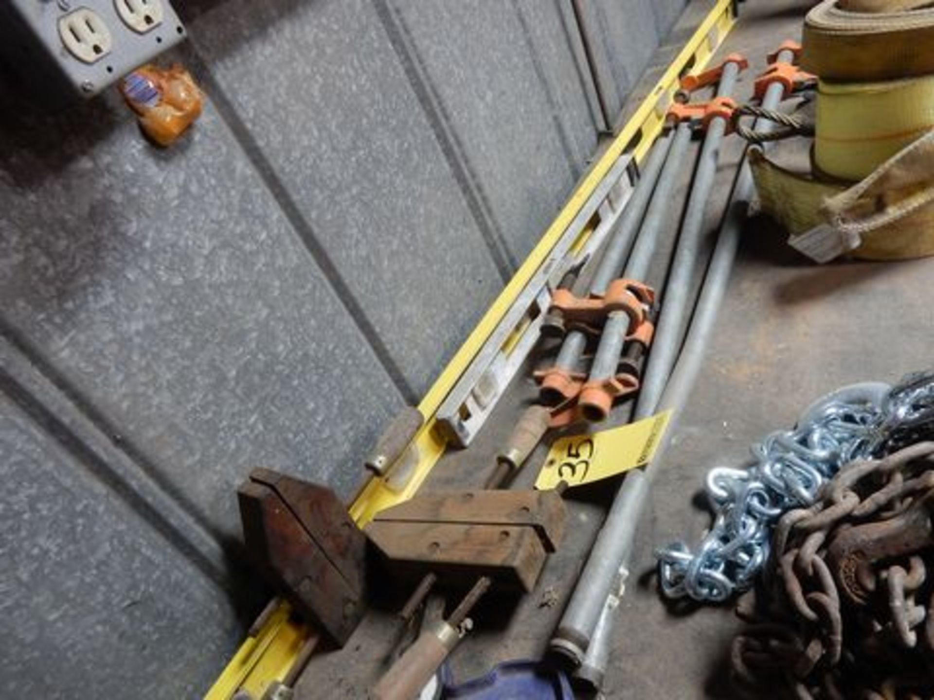 LOT HOLD DOWN CLAMPS, BAR CLAMPS
