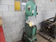 """GRIZZLY 18"""" VERT. WOODWORKING BANDSAW (INCOMPLETE)"""