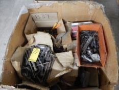LOT CRATE OF DRILL BITS, END MILLS & MISC. TOOLING